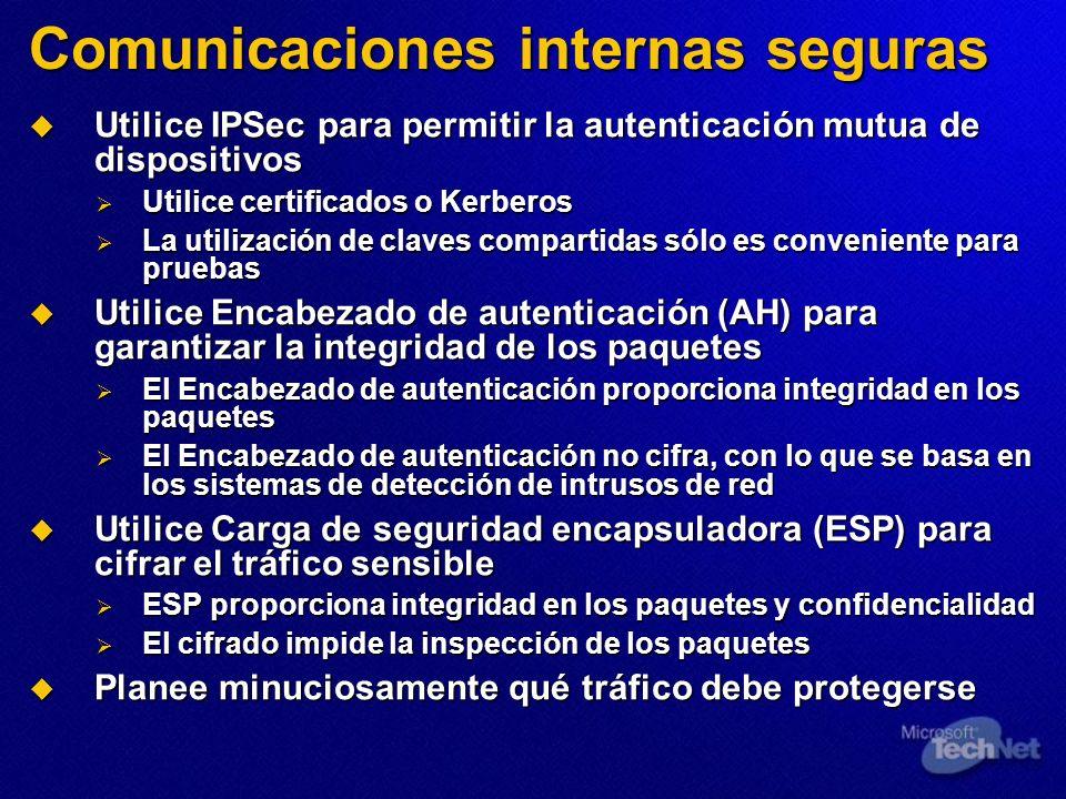 Comunicaciones internas seguras