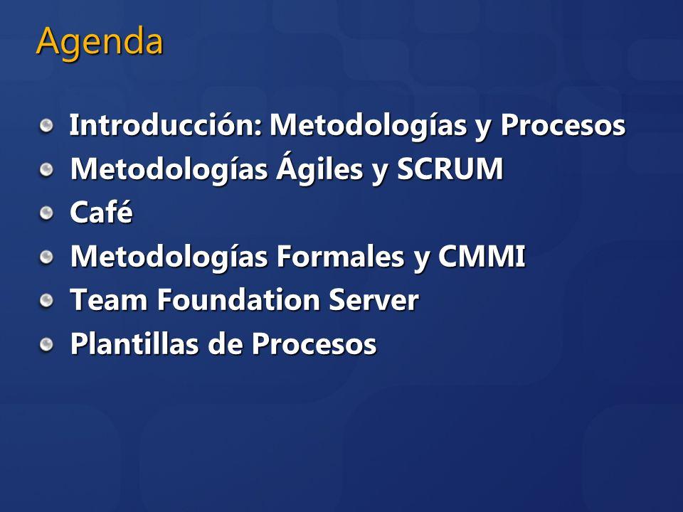 Agenda Introducción: Metodologías y Procesos