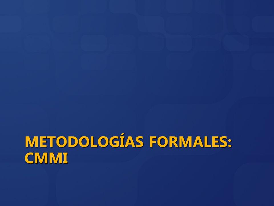 Metodologías FOrmales: CMMI
