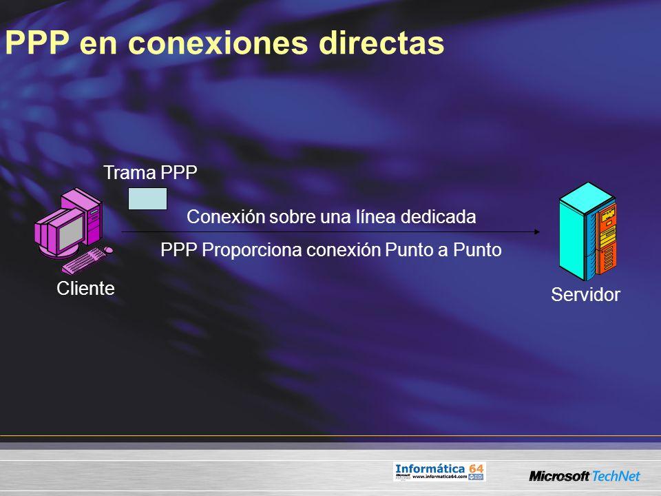 PPP en conexiones directas