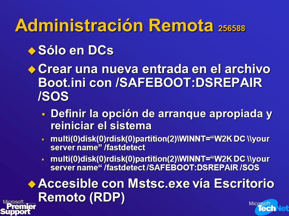 Administración Remota 256588