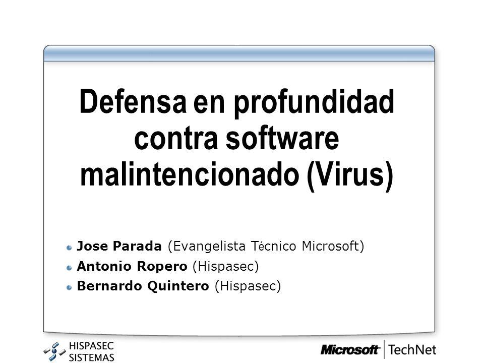 Defensa en profundidad contra software malintencionado (Virus)