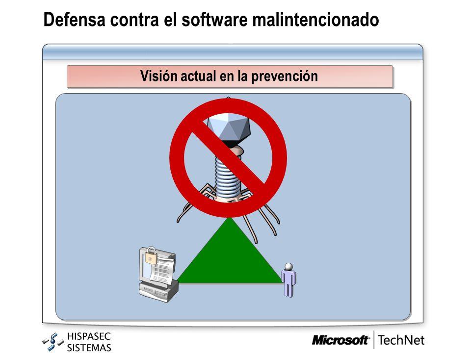 Defensa contra el software malintencionado