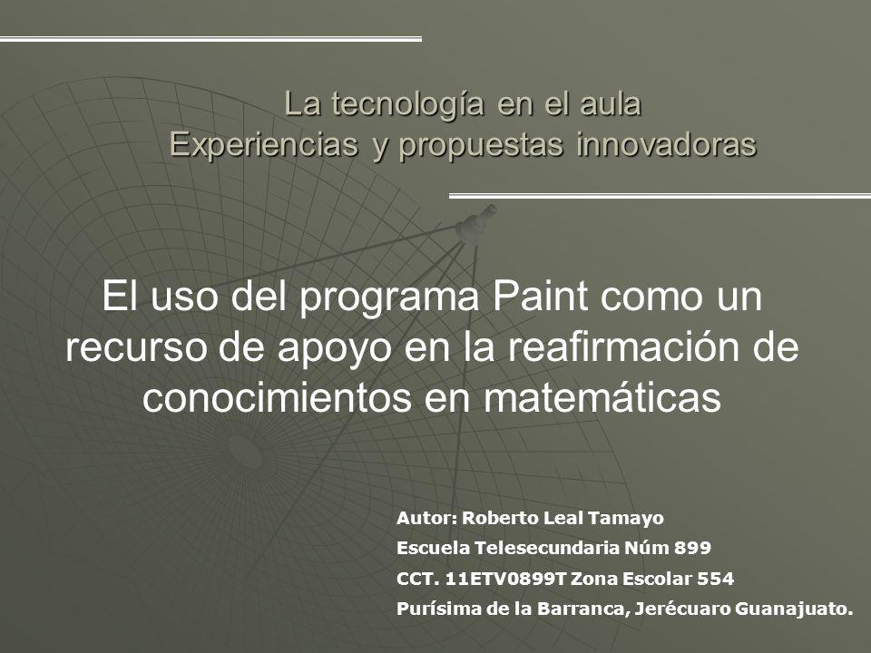 La tecnología en el aula Experiencias y propuestas innovadoras