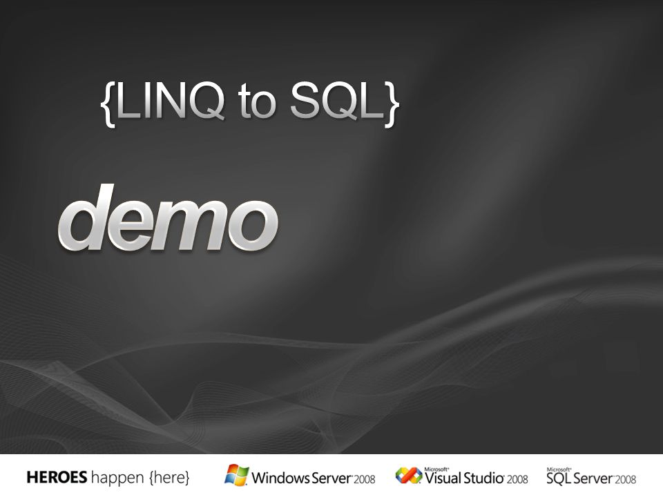 demo {LINQ to SQL} 3/24/2017 3:58 PM
