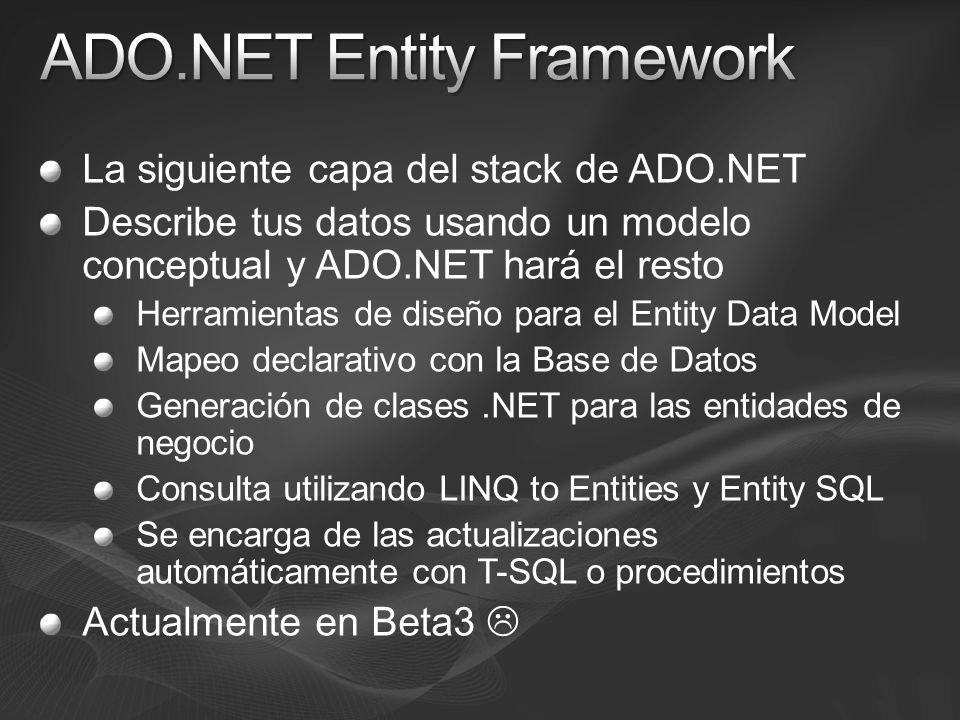 ADO.NET Entity Framework