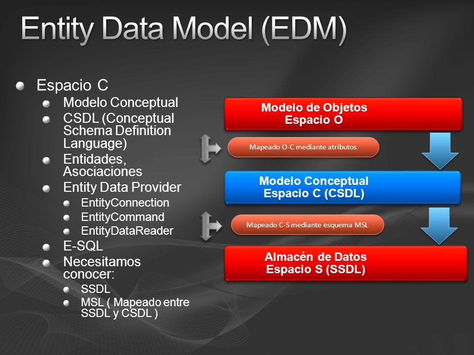 Entity Data Model (EDM)