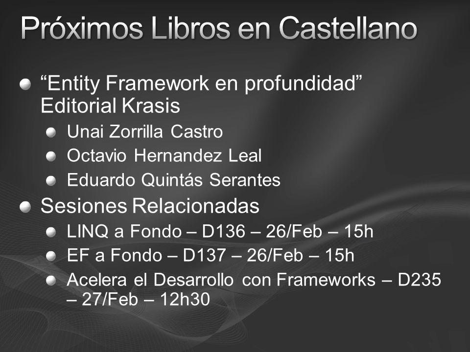 Próximos Libros en Castellano