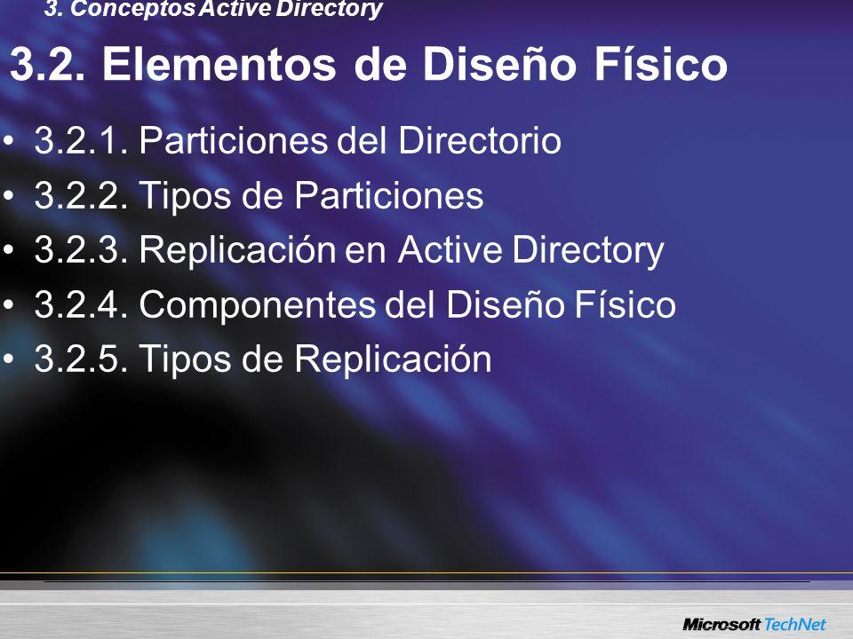 3.2. Elementos de Diseño Físico