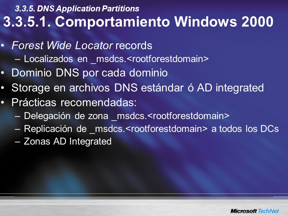 3.3.5.1. Comportamiento Windows 2000