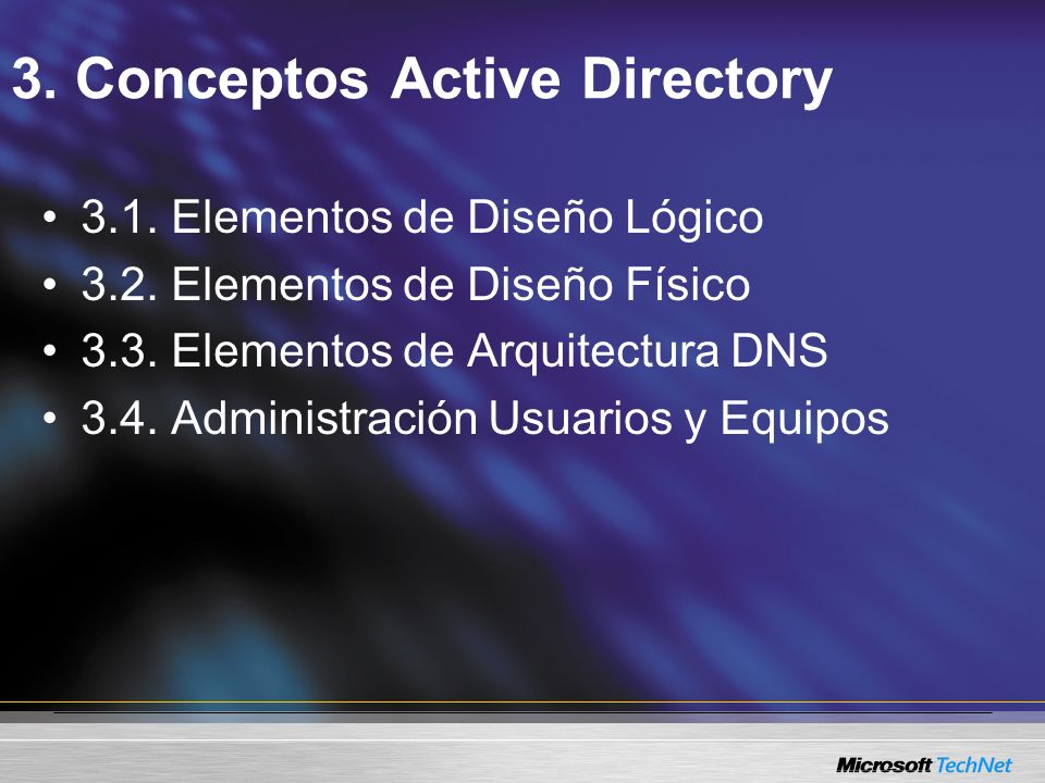 3. Conceptos Active Directory