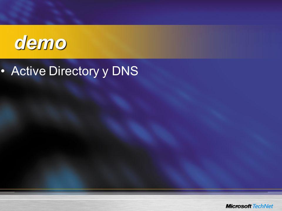 demo Active Directory y DNS