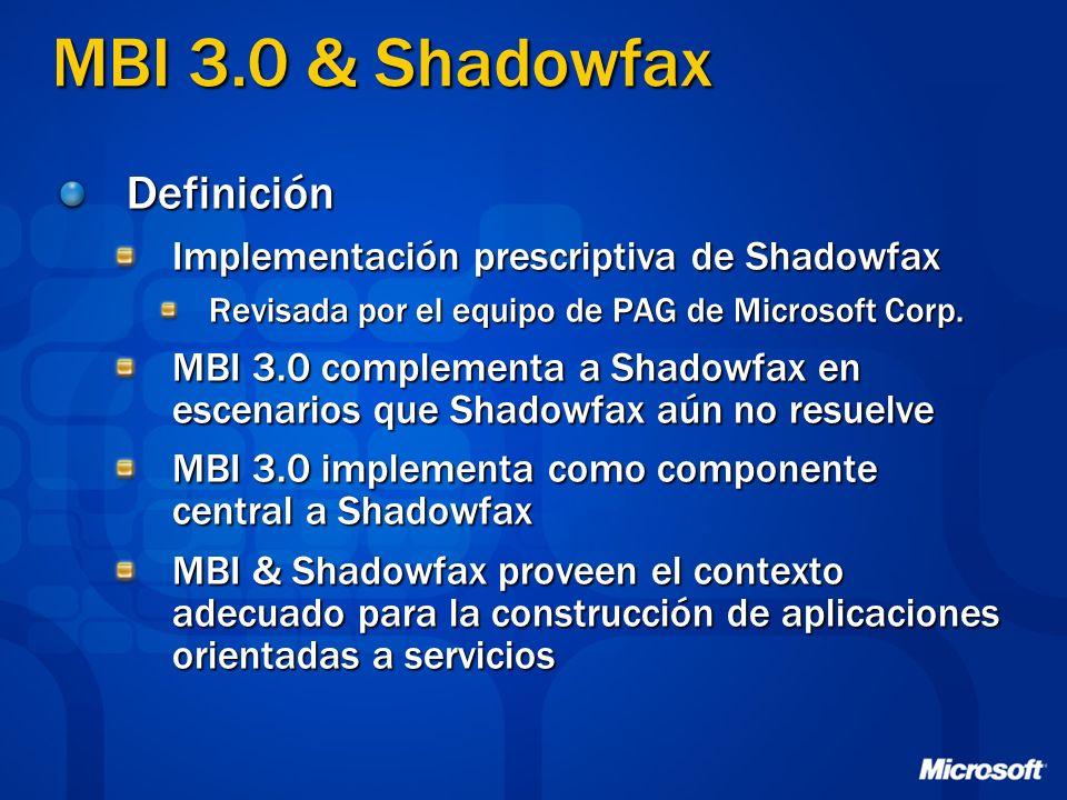 MBI 3.0 & Shadowfax Definición