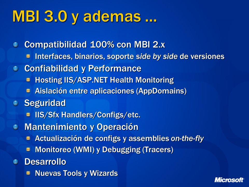 MBI 3.0 y ademas … Compatibilidad 100% con MBI 2.x