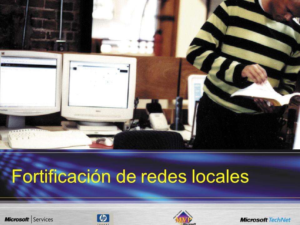 Fortificación de redes locales