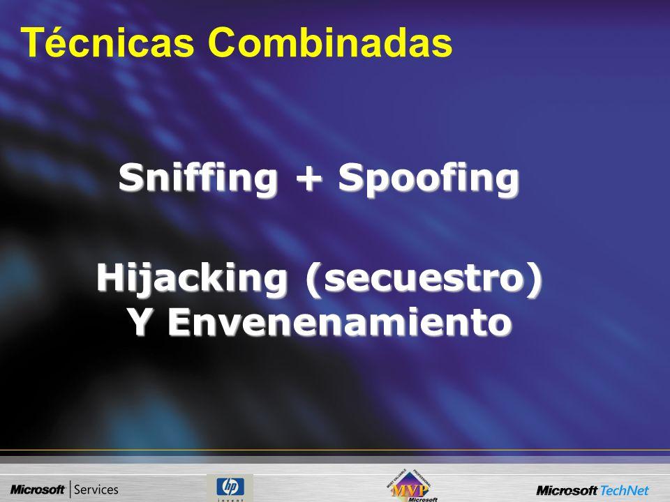 Hijacking (secuestro) Y Envenenamiento