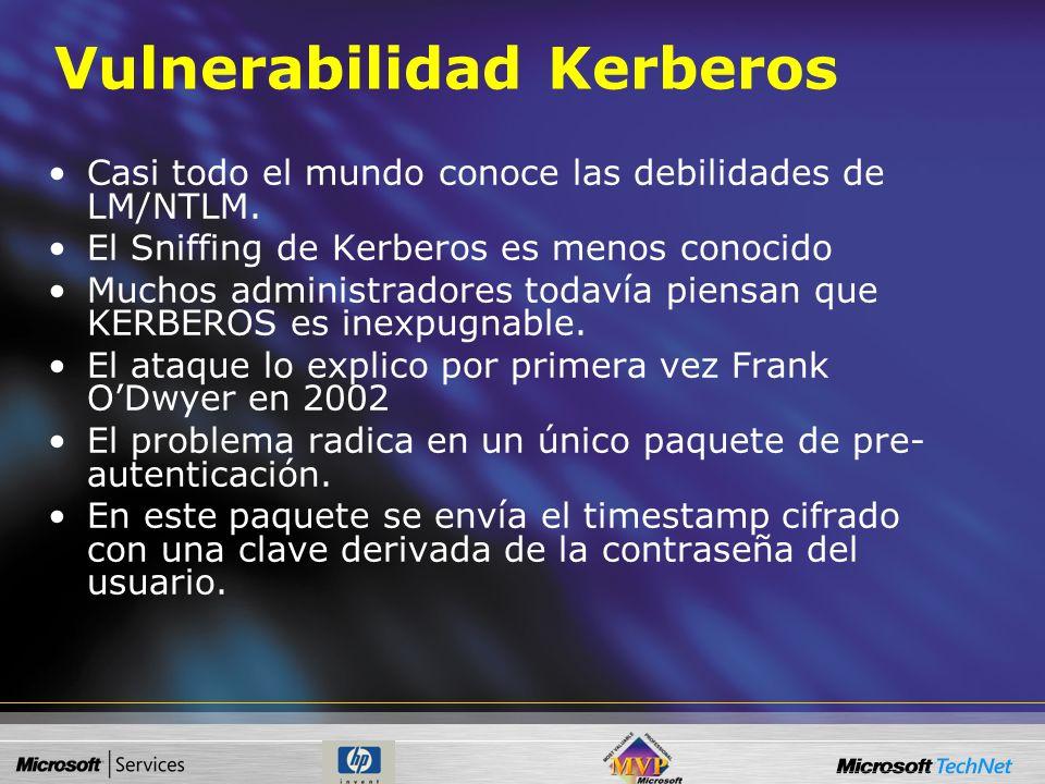 Vulnerabilidad Kerberos