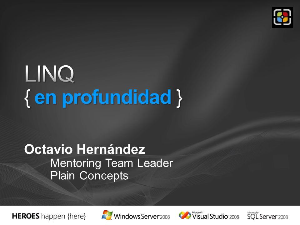 Octavio Hernández Mentoring Team Leader Plain Concepts
