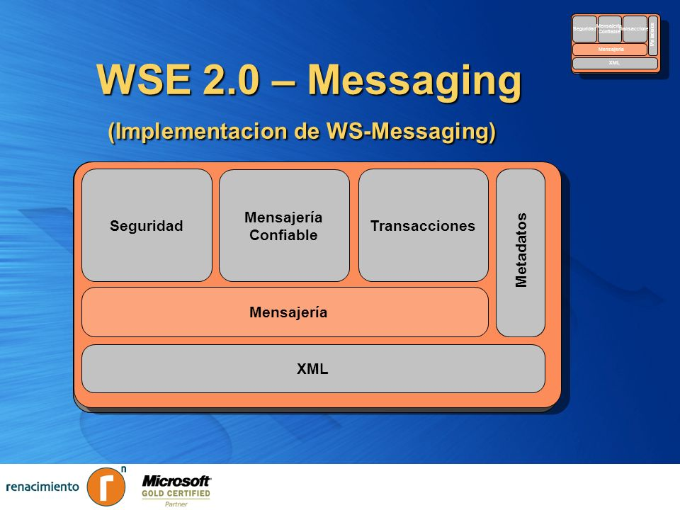 WSE 2.0 – Messaging (Implementacion de WS-Messaging)