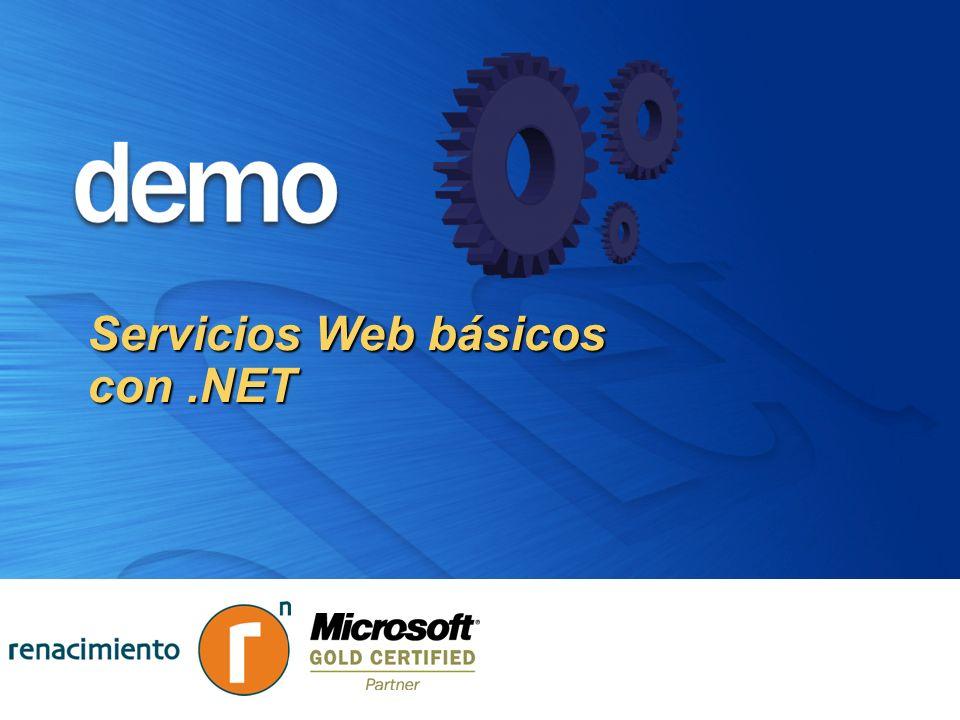 Servicios Web básicos con .NET