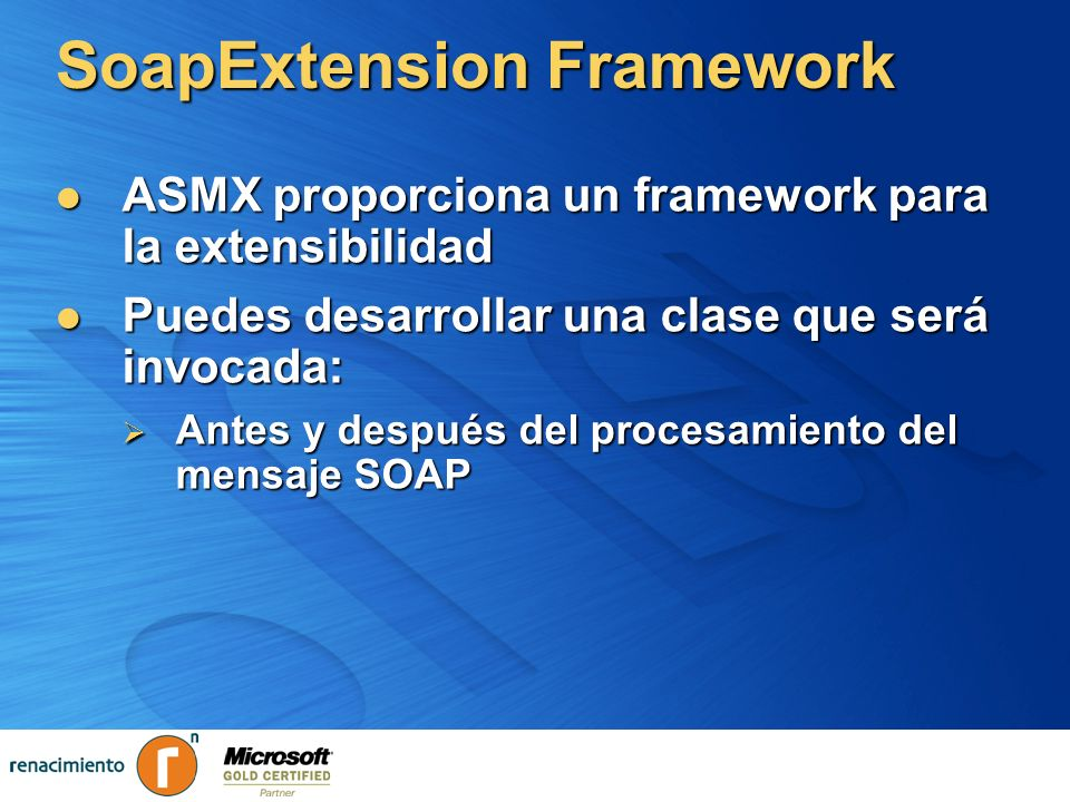 SoapExtension Framework