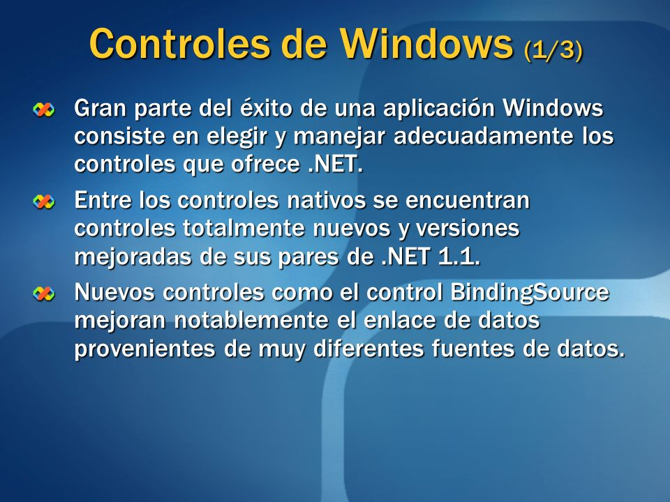 Controles de Windows (1/3)