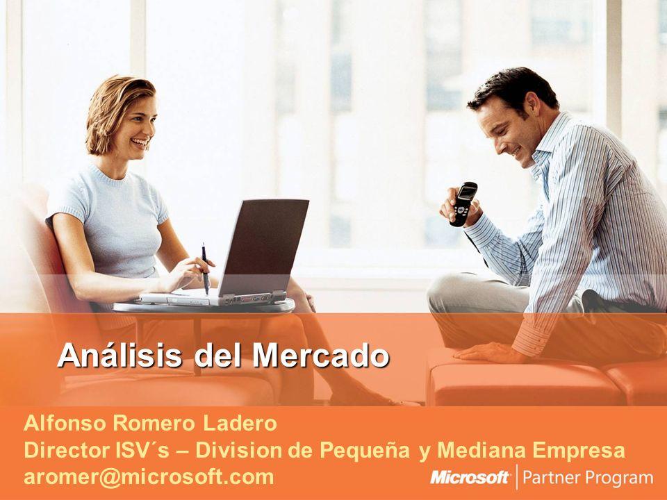 Análisis del Mercado Alfonso Romero Ladero