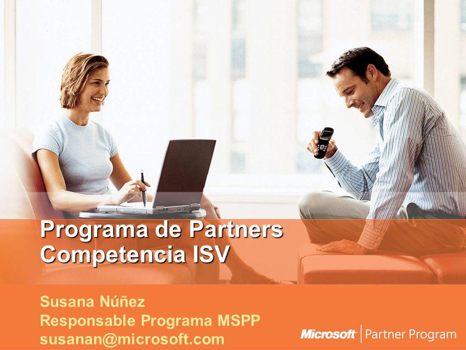 Programa de Partners Competencia ISV