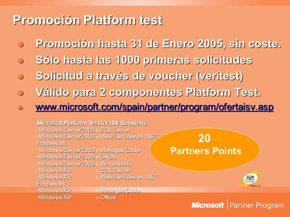 Promoción Platform test