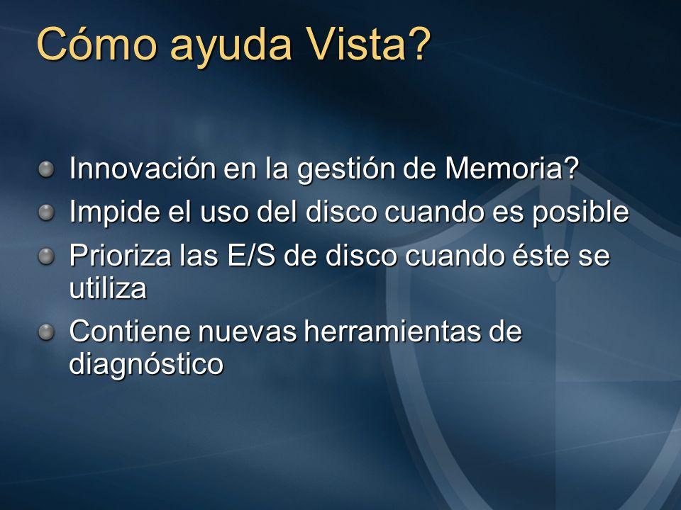 Cómo ayuda Vista Innovación en la gestión de Memoria