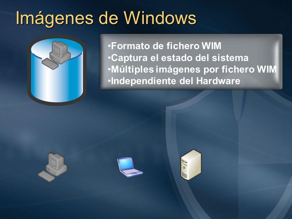 Imágenes de Windows Formato de fichero WIM