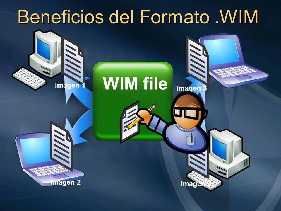 Beneficios del Formato .WIM