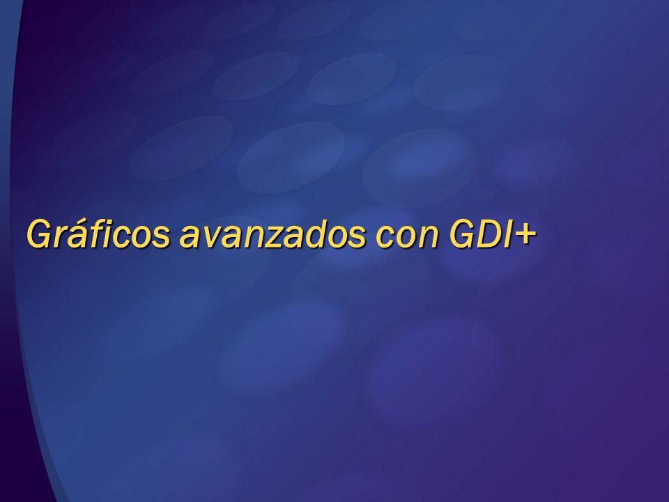 Gráficos avanzados con GDI+