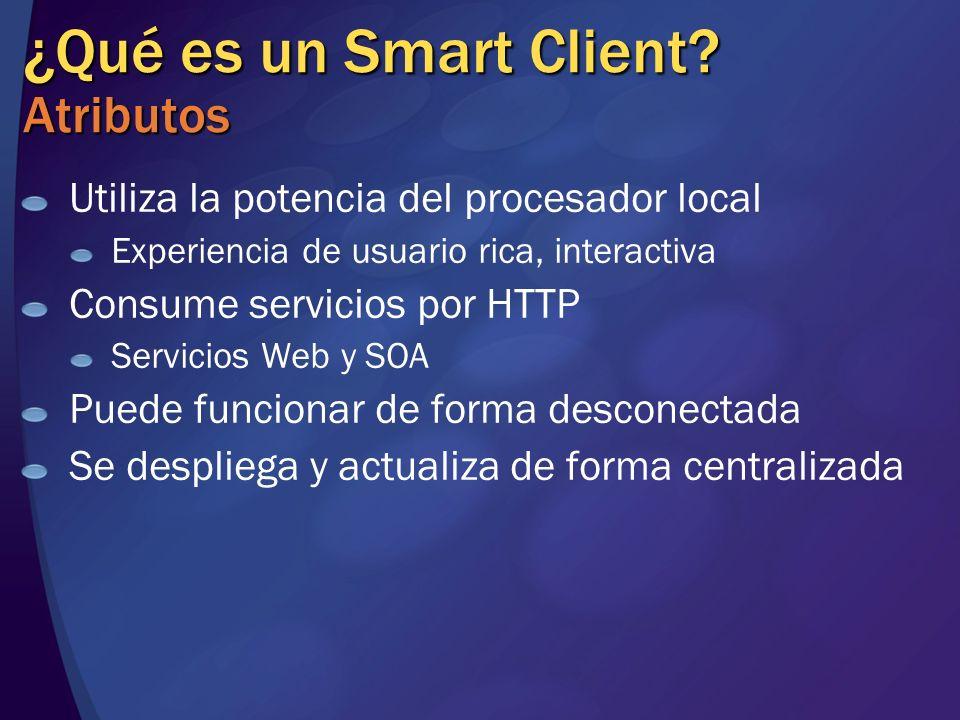 ¿Qué es un Smart Client Atributos