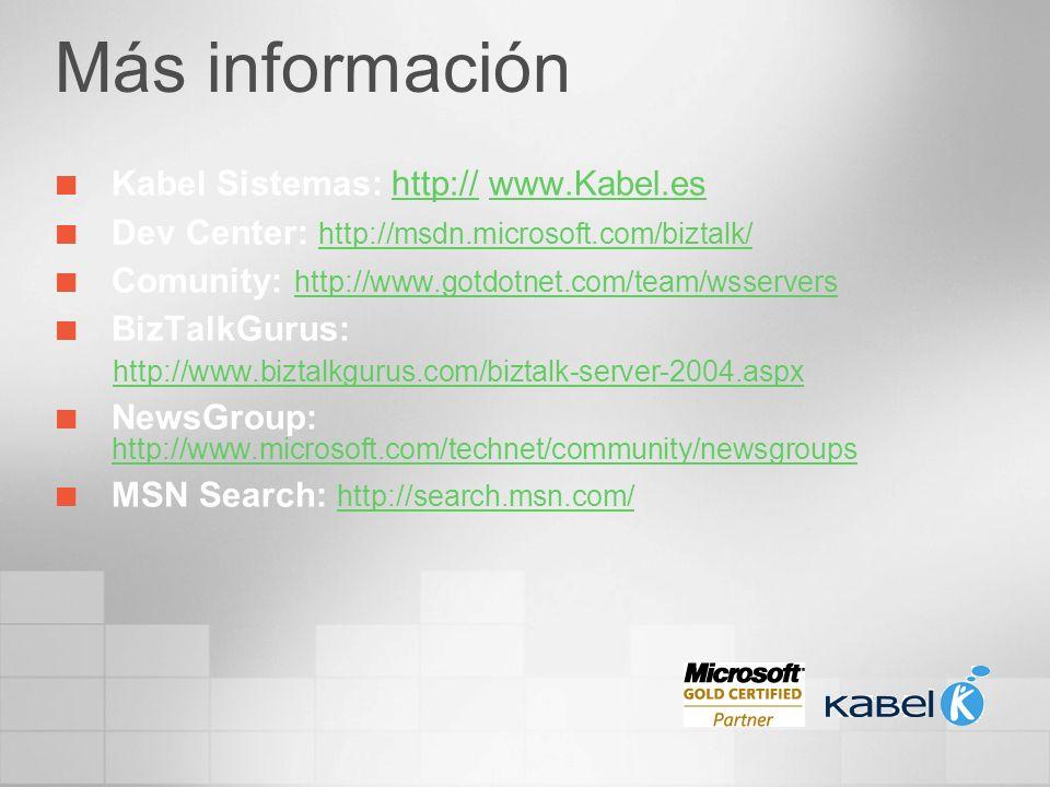 Más información Kabel Sistemas: http:// www.Kabel.es