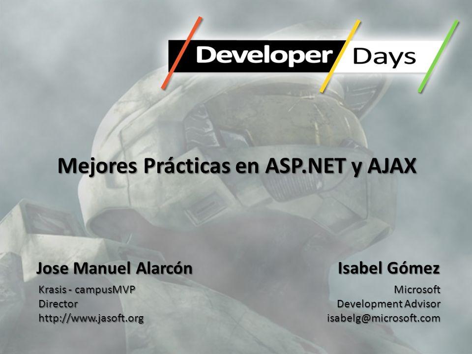 Mejores Prácticas en ASP.NET y AJAX