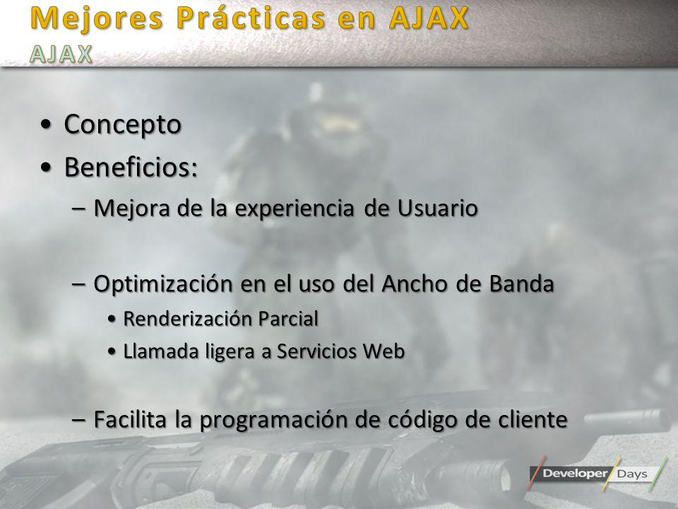 Mejores Prácticas en AJAX AJAX