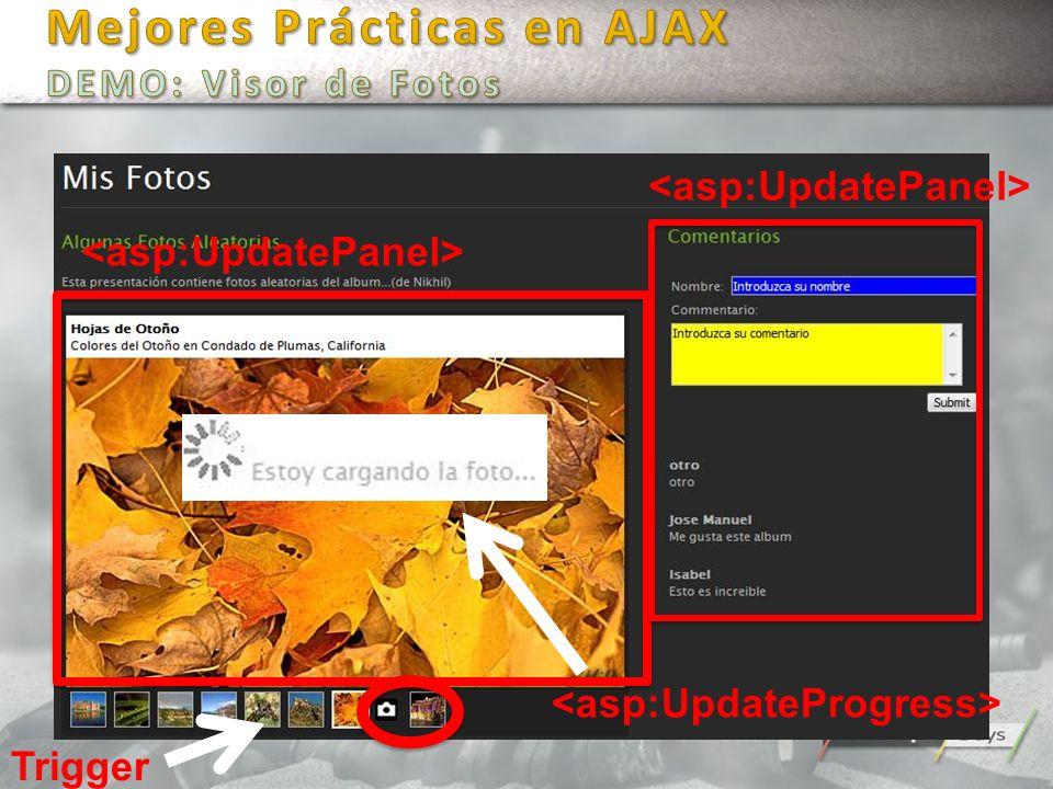 Mejores Prácticas en AJAX DEMO: Visor de Fotos