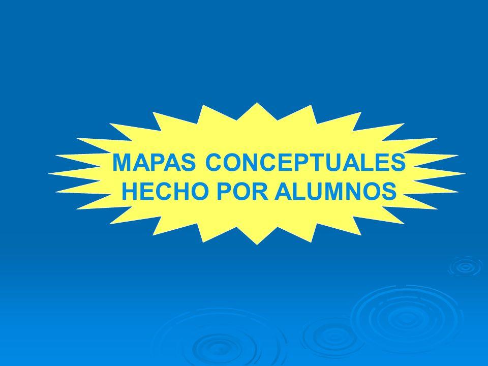 MAPAS CONCEPTUALES HECHO POR ALUMNOS