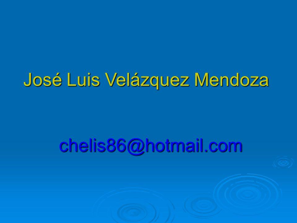 José Luis Velázquez Mendoza