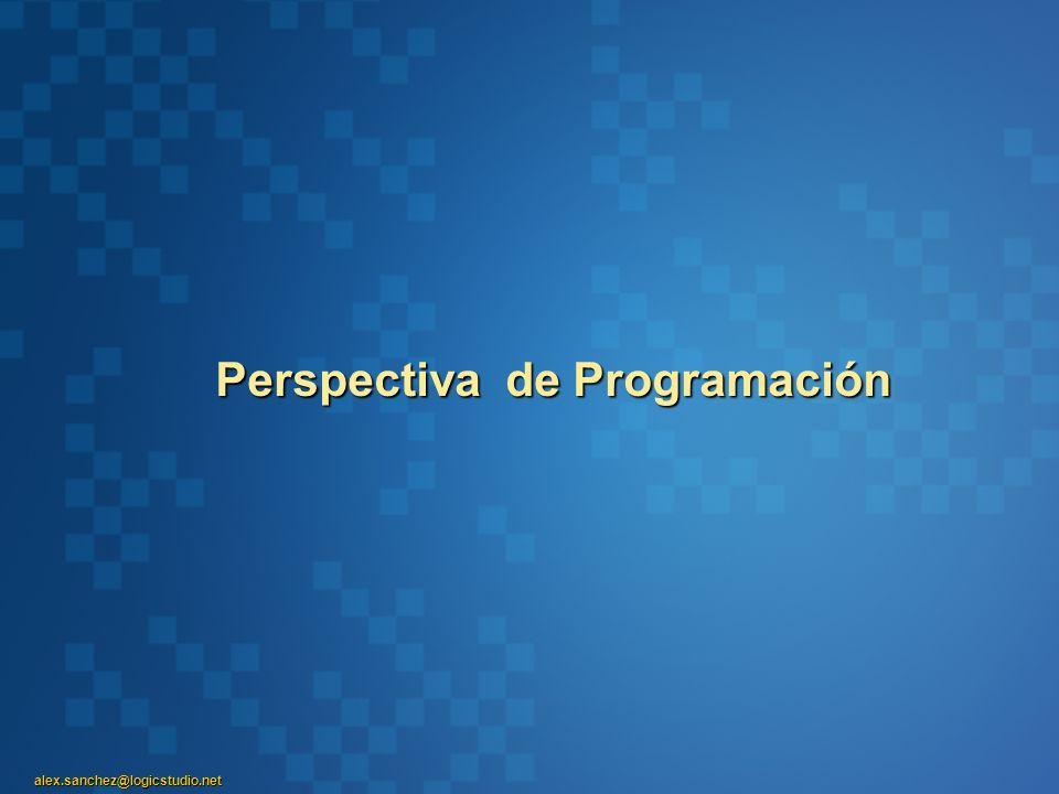 Perspectiva de Programación