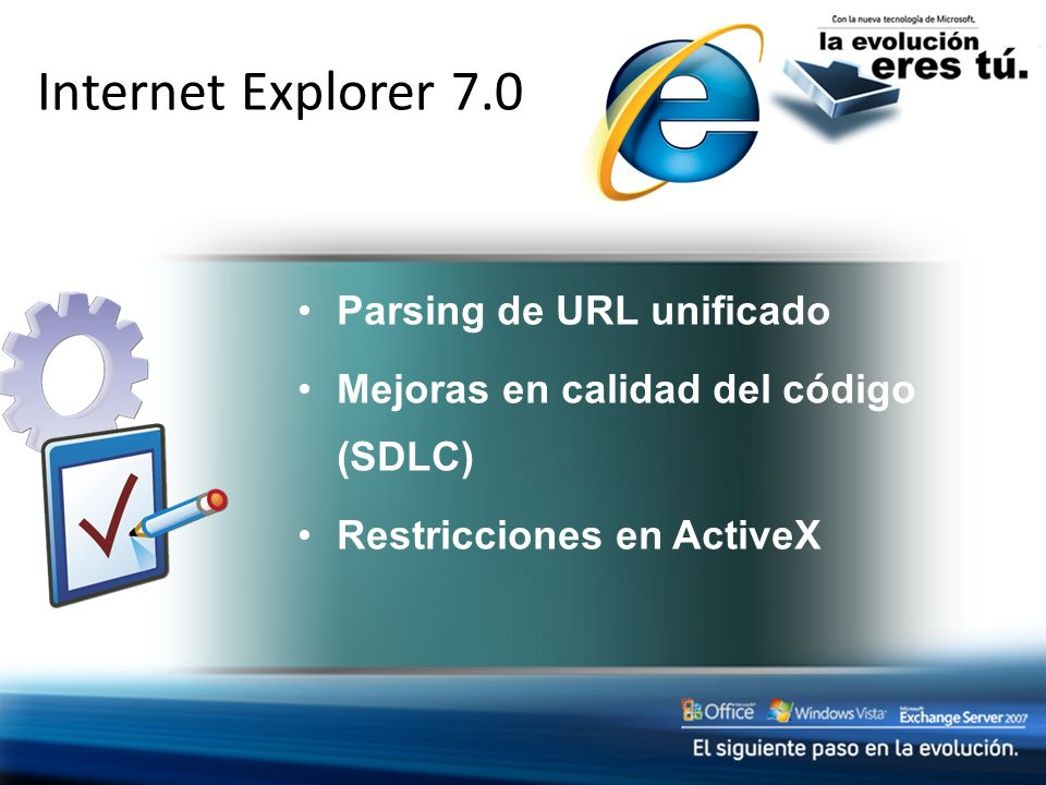 Internet Explorer 7.0 Protection from Exploits