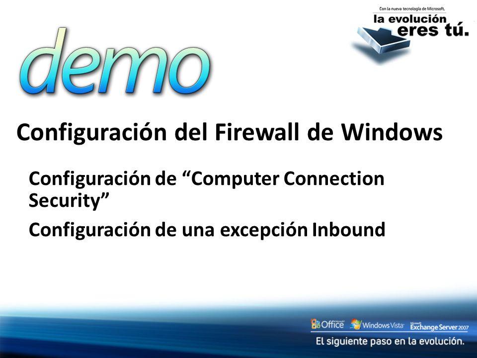 Configuración del Firewall de Windows