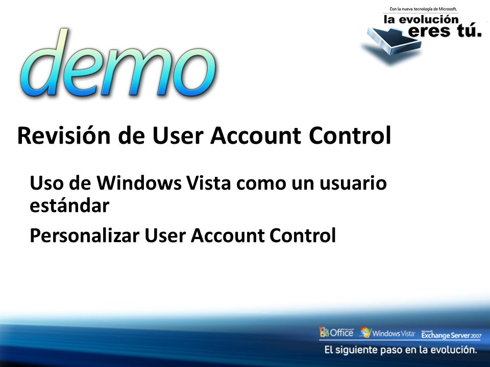 Revisión de User Account Control
