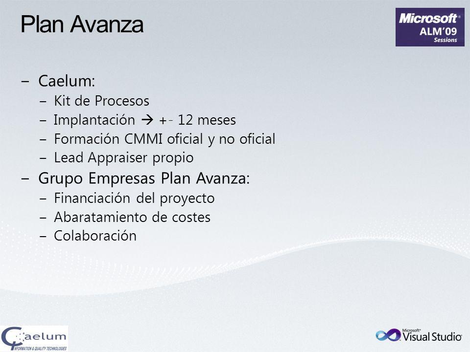 Plan Avanza Caelum: Grupo Empresas Plan Avanza: Kit de Procesos