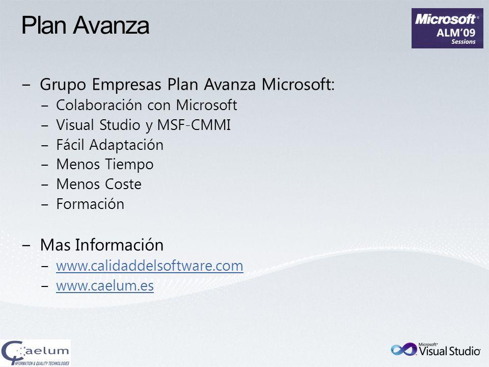 Plan Avanza Grupo Empresas Plan Avanza Microsoft: Mas Información