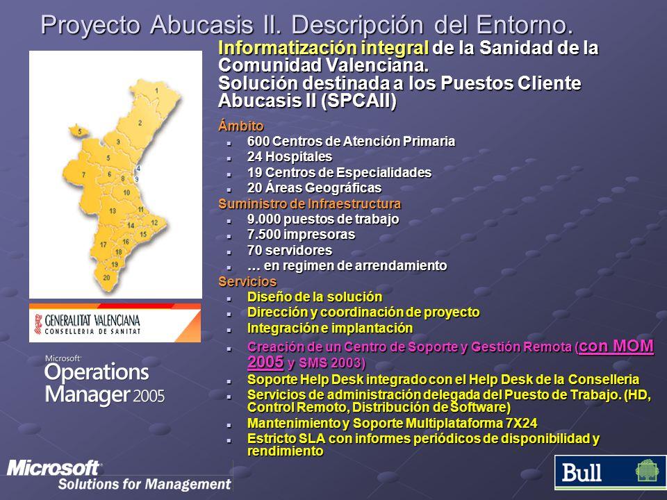 Proyecto Abucasis II. Descripción del Entorno.