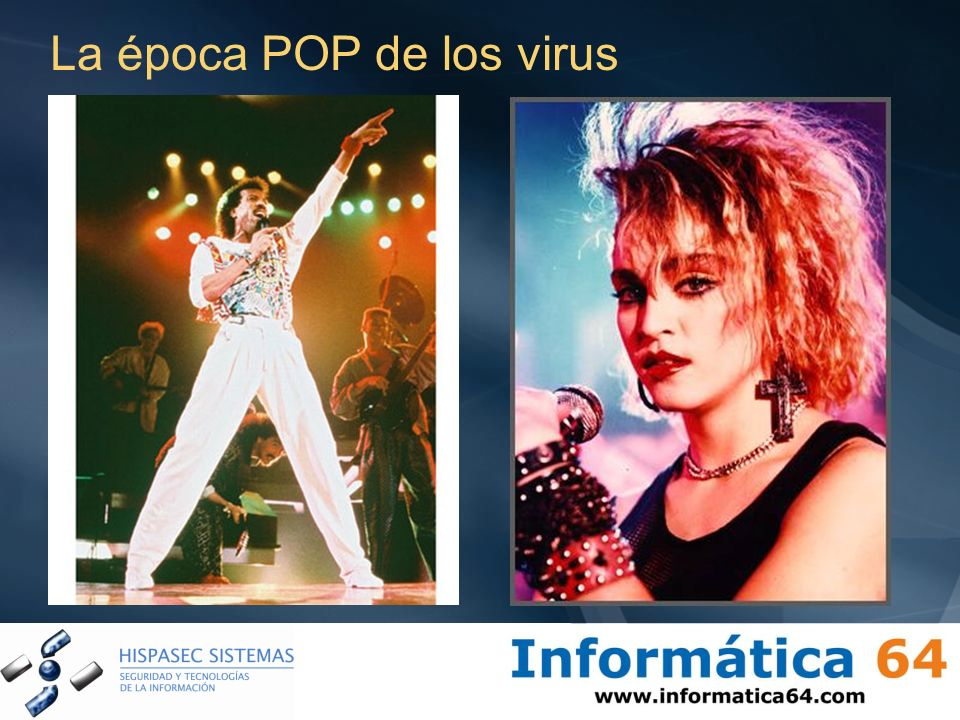 La época POP de los virus