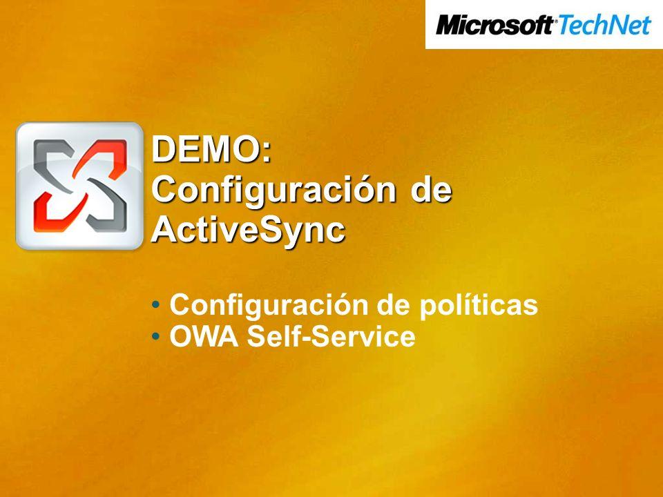 Configuración de ActiveSync