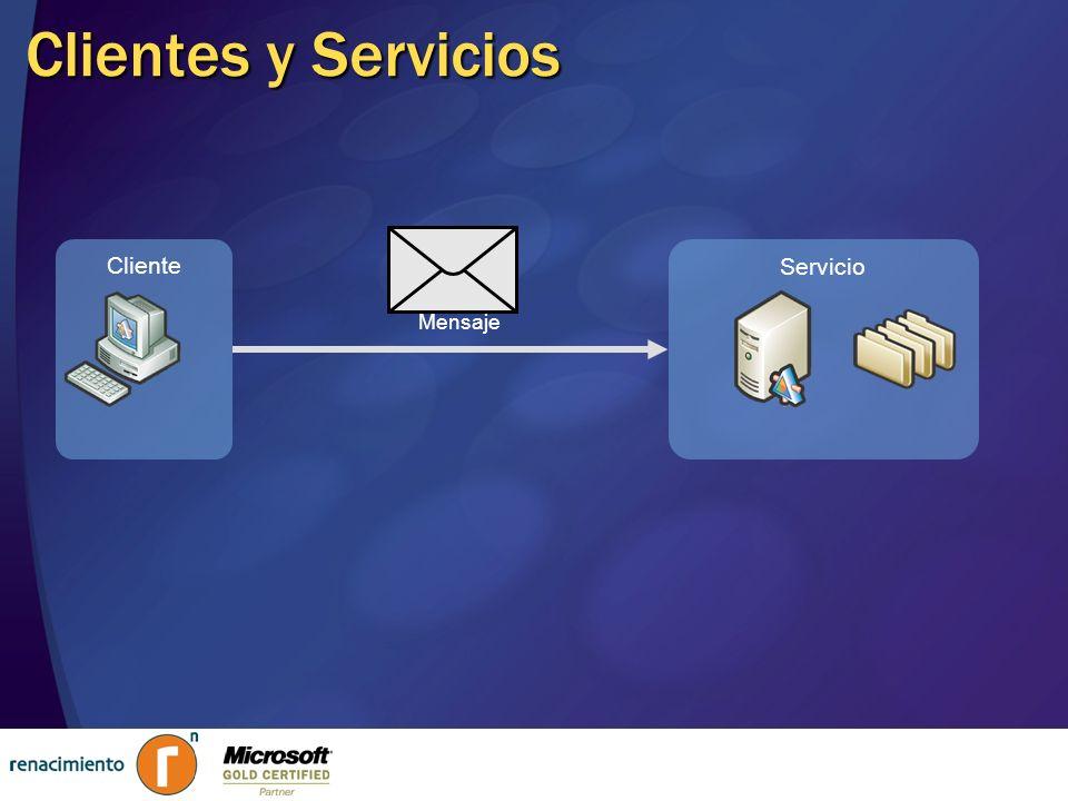 Clientes y Servicios Mensaje Cliente Servicio